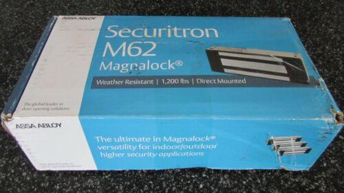 Securitron M62G Magnalock 12VDC or 24VDC 1200lb mag lock G version for conduit