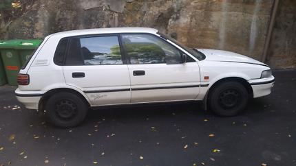 1994 Holden Nova (Toyota Corolla) SLX