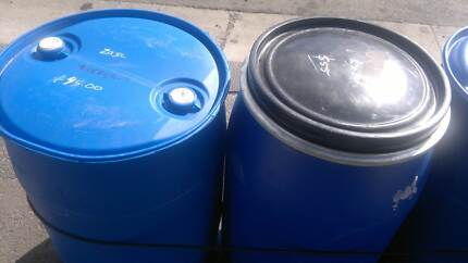 Plastic drums wanted