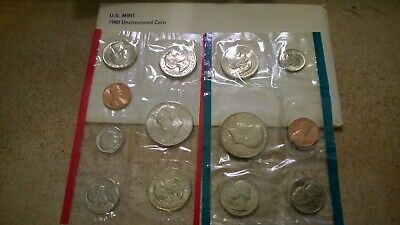 1980 US MINT UNCIRCULATED SET  (1980 Us Mint Set)