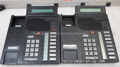 Qty 2 - Northern Telecom Nt2k08gk03 M2008 W Disp Business Phone No Hand Sets
