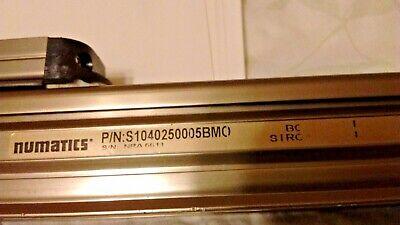 Numatic Rodless Air Cylinder Pn--s1040250005bmo