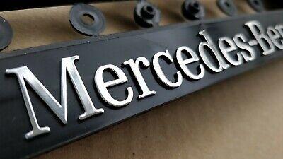 2 Stück Mercedes Benz 3D Kennzeichenhalter Kompressor