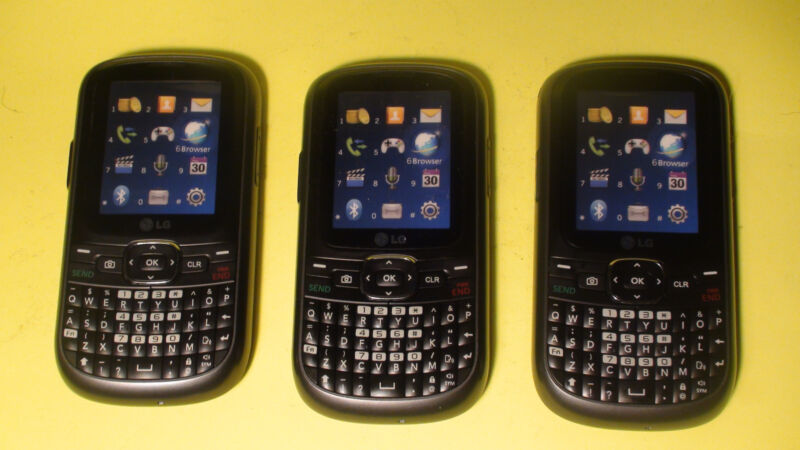 24) LG Dummy Display Fake Phone use for Toy or Crafts