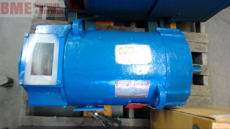 General Electric 5Cd164Ua008A012 20 Hp Dc Motor 240 Volts, 70.5 Arm Amps,