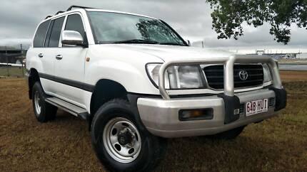 2000 Toyota LandCruiser GXL 7-seater 5 speed 12 month warranty Archerfield Brisbane South West Preview