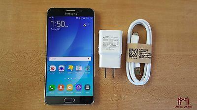 Samsung Galaxy Note 5 | T-Mobile | Grade A | Factory Unlocked | Black Sapphire |
