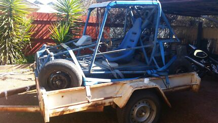 Buggy and 8x5 trailer  Lockington Campaspe Area Preview