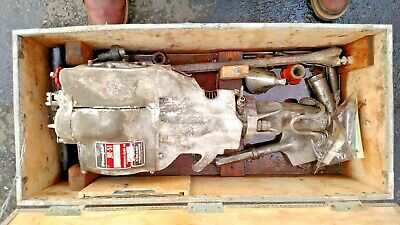 Working Pionjar B-51 Bergman Borr Portable Power Rock Drill And Tooling And Case