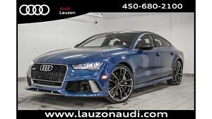 2017 Audi RS 7 PERFORMANCE DRIVER ASSIST NIGHT VISION 21