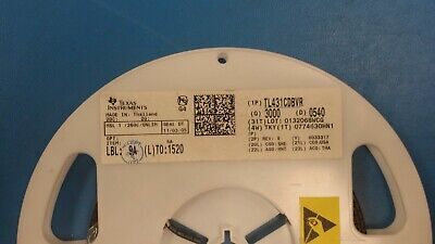 50pc Tl431cdbvr V-ref Adjustable 2.495v To 36v 100ma 5-pin Sot-23 Rohs 0540dc
