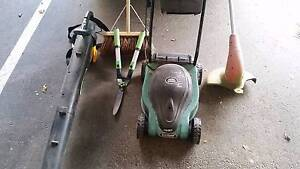 Gardening Kit: Lawn Mowers, Blower, grass cutter and Glenelg Holdfast Bay Preview