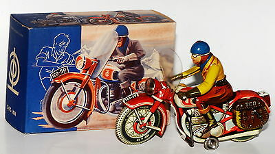 TCO TippCo Tipp&Co. kleines Packtaschen-Motorrad Nr. 590 in originaler Box