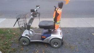 Quadriporteur --  Mobility Scooter