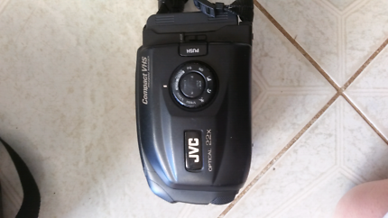 JVC VHS Camcorder with extras