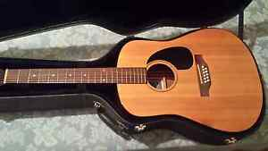Seagull acoustic guitar and hard case Newcastle Newcastle Area Preview