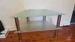 TV Stand tempered glass