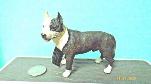 Pit Bull Brindle Dog Figure