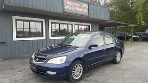 2002 Acura 1.7EL SAFETIED ETESTED ONLY  $1899+taxes