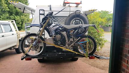 Custom made dirt bike carrier