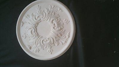 Plaster Ceiling Rose  Victorian Diameter 39cm 15 1/4 inch..