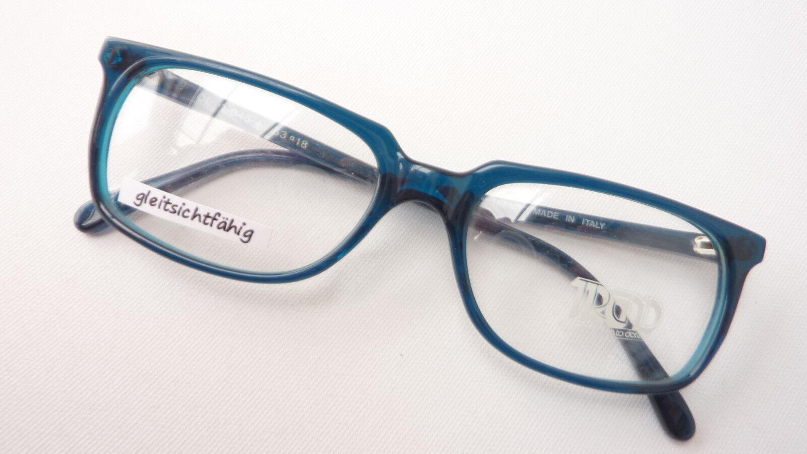 Brille Brillengestell rechteckig mittelgroß  balu-grün petrol Damen Herren Gr. M