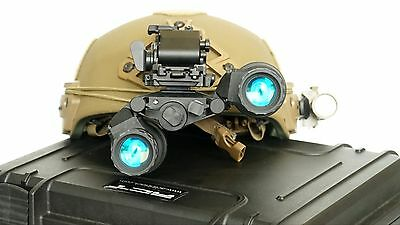 Act In Black Dtnvg Pvs Bino Night Vision Goggles W Gen3 Green Phosphor Bnvd