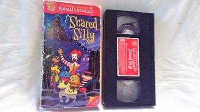 VINTAGE RONALD MCDONALD SCARED SILLY VHS MOVIE SCARY HALLOWEEN MUSIC SONGS