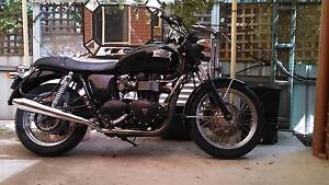 2008 T100 Triumph.... Downsizing... Geelong West Geelong City Preview