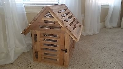 indoor wooden dog house/crate