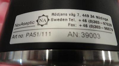 Novaseptic Valve Na51 Pneumatic Actuator
