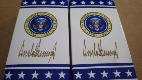 M & M Donald Trump White House Peanut and Plain  Mars Memorabilia 2 boxes