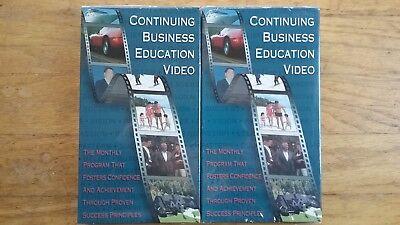 2 New Amway/Quixtar/InterNET Continuing Education Videos: Kiyosaki and Ring