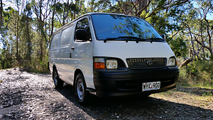 Toyota hiace rzh103r 1999 on gas Heathfield Adelaide Hills Preview
