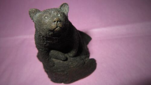 Vintage 1985 Bear Sculpture By Peter Berryman - A Northwest Artist, Seattle