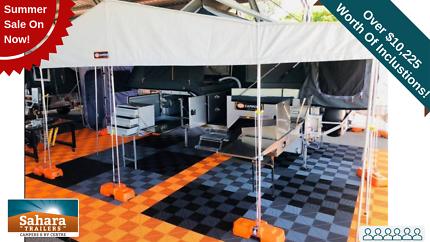 SUV Camper Grand Mega Slideout 6 Berth. Mysterton Townsville City Preview