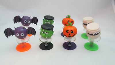Halloween Mini Kids Party Favors 8 Monster Pop-ups Monster, Bat, Pumpkin & - Halloween Party Favors Kids