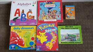 Asstd board games, puzzles/ educational resources from $4 Kangaroo Point Brisbane South East Preview
