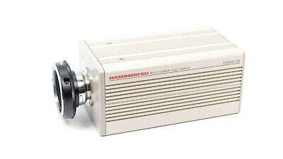 Hamamatsu Multi-format Ccd Camera Head C4880-80 W Nikon F To C Lens Adapter