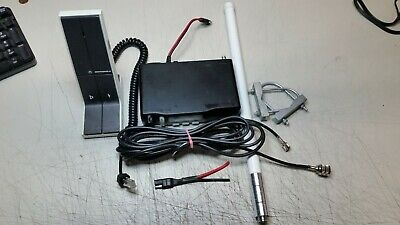 45 Watt Motorola M1225 Vhf 140-170 Mhz 20 Channel Free Program Desk Mic Antenna
