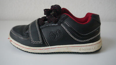 Southpole Schuhe für Kinder Gr. 33 Sneaker Halbschuhe Schwarz und Rot