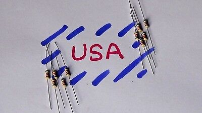 6.8k Ohm Resistor - Carbon Film - 10pcs - 14 Watt - 5 - 6k8 - Ships Today