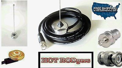 BOAFENG RADIO ROOF MOUNT ANTENNA 1/4 WAVE  450-470 UHF W/RADIO BNC Roof Mount Antenna