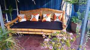 Bali style bamboo day bed Beaconsfield Fremantle Area Preview