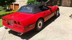 88 c4 corvette  convertible Illawong Sutherland Area Preview