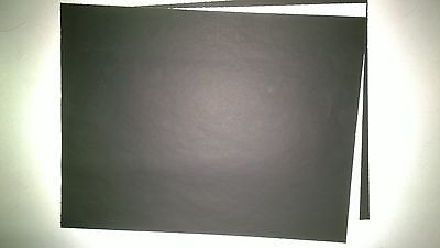 """20 Sheets Black Carbon Paper 8 1/2"""" x 11"""" Good for Tracing,Stenciling,Office on Rummage"""