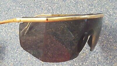 Crews Gold & Rimless Sunglasses Square Angled Retro (Crews Sunglasses)