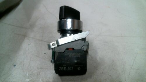 TELEMECANIQUE ZBE-102 CONTACT W/2 POSITION SELECTOR SWITCH -FREE SHIPPING