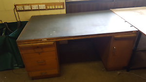 Huge hardwood desk Bayswater Knox Area Preview