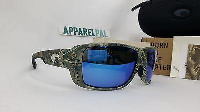 7379011959 New Costa del Mar Double Haul Polarized Sunglasses Realtree AP Camo Blue  400G